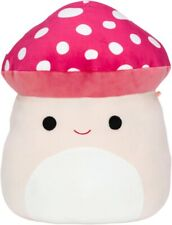 "New Kellytoy Squishmallow 5"" Malcolm the Mushroom Mini Plush Toy Rare"