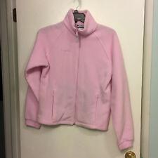 Columbia Youth Size 18/20 Pink Fleece Jacket
