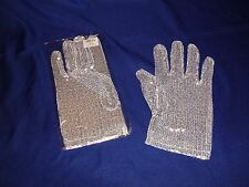 Michael Jackson Glitter Glove Adult size/Right Hand  New!