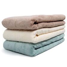 3PCS Egyptian Cotton Bath Sheets Set Super Large Towels Multi-Colours 70 * 140cm