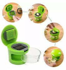 KITCHEN TOOL GARLIC CHOPPER SLICER HAND PRESSER GRINDER as seen on TV