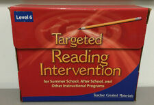 Teacher Created Materials Targeted Reading Intervention Level 6 Kit Home/School