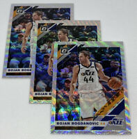 3 x 2019-20 DONRUSS OPTIC BOJAN BOGDANOVIC FANATICS SILVER PRIZM WAVE #79