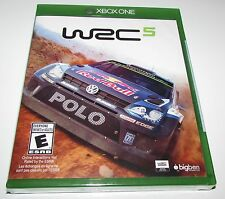 WRC 5 for Xbox One Brand New! Factory Sealed!