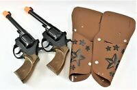 Deputy Double Holster Cap Gun Pistol Toy Set With Holsters Free Shipping