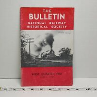 National Railway Bulletin Volume 25 1960 Vintage