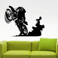 Freestyle Motocross Wall Decal Extreme Sports Sticker Home Interior Design