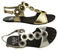Donna Velenta Flat (0 to 1/2 in.) Synthetic Sandals & Flip Flops for Women