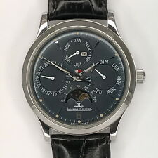 Jaeger LE COULTRE PLATINO Master Control PERPETUAL/calendario eterno Limited 250