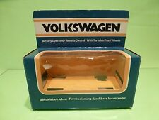 CHINA - ONLY BOX for VW VOLKSWAGEN BEETLE - BLUE ORANGE  - EMPTY BOX