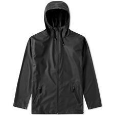 RAINS MENS JACKET - BREAKER - BLACK -L / XL  - RAINPROOF - RRP £99 - SALE *BNWT*