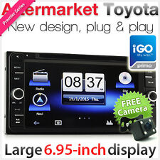 "7"" Toyota Corolla Kluger Hiace Tarago Car GPS DVD Player CD Stereo Radio USB MP3"