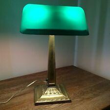 Emeralite Vintage Bankers Desk Lamp