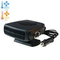 Car Windshield Heating Cooling Fan 12V 200W Quick Heater Defroster Demister
