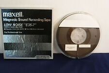 """7"""" Plastic Maxell Reel To Reel tape, USED- Radio Programs 3.See photos for list."""