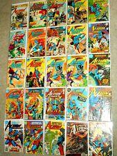 Action Comics (Lot of 25) VG/FN 1975-90 #447 455 460-1 464-5 467-70 489 499..etc