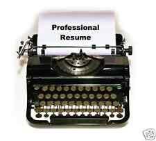 Basic Resume - 1-page professionally written by employed resume writer