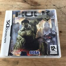 Nintendo DS Game * THE INCREDIBLE HULK * No Booklet