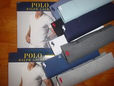 1 Polo Ralph Lauren Mens V Neck T shirt Classic Fit 100% Cotton S M L XL 2XL New