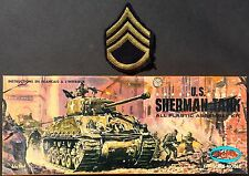Vintage (1968) AURORA Kit No.317-130 U.S. SHERMAN Main Battle Tank, 1/48, MIB