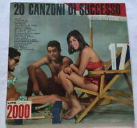 20 SUCCESSI DEL SECOLO N. 17 LP VARIOUS 33 GIRI VINYL ITALY TIGER A.S. 17 EX/VG+