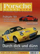 Porsche Scene 3/03 2003 911 E 914/6 IMSA Joest-TWR 964 RS WTL 996 GT3 Cup