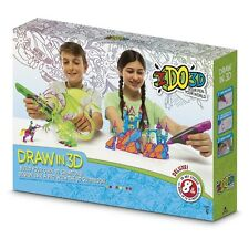 Cool Create IDO3D Deluxe Design Studio - Draw in 3D - 8 pens I do 3D BRAND NEW