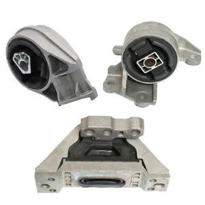 Engine Motor & Manual Trans Mount 3PCS Set Fit 2003-2004 Saturn Ion 2.2L