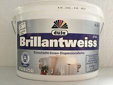 Düfa  Brillantweiß Einschicht Innen Dispersionsfarbe  10 L  / L 4,49