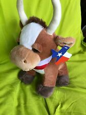 "New Texas Longhorn Plush Western 9"" Plush Stuffed Animal By Texas Products"