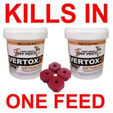 More details for 600g (30 x 20g) single feed rat & mouse killer poison bait blocks fast results