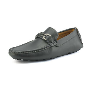 Mens Driving Casual Moccasins Leather Loafers Slip On Boat Penny Shoes Size 5-11