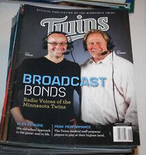 Minnesota Twins Program Magazine | June July 2013 | Dan Gladden