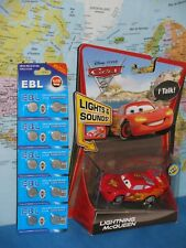 DISNEY PIXAR CARS 2 TALKING LIGHTNING MCQUEEN LIGHTS & SOUNDS +10 EXT BATTERIES