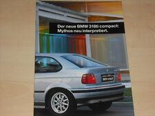 64291) BMW 318ti compact E36 Prospekt 02/1994