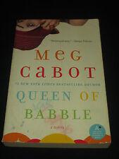 msm* SALE : MEG CABOT ~  QUEEN OF BABBLE tp