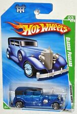 HOT WHEELS 2010 #47 Treasure Hunt #3 Classic Packard blue MOC HTF TH T-Hunt