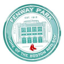 Fenway Park Boston Red Sox MLB Embossed Metal Novelty Round Sign