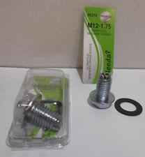 Lot of 2 New Oil Pan Drain Plug Bolts M12-1.75  65213