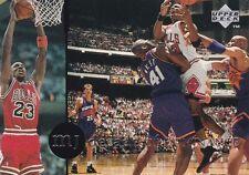 CHICAGO BULLS MICHAEL JORDAN 1994 UPPER DECK RARE AIR #73 DECADE OF DOMINANCE