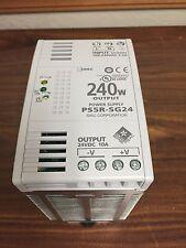 IDEC PS5R-SG24 AC-DC CONVERTER, DIN RAIL, 1 O/P, 240W, 10A, 24V