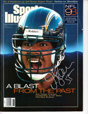 Junior Seau autographed signed San Diego Chargers 1993 Sports Illustrated SI COA