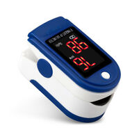 Fingertip Pulse Oximeter Blood Oxygen Saturation Meter SPO2 PR Monitor Fingertip