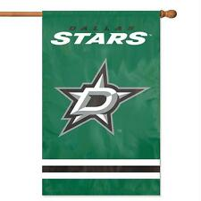 Dallas Stars 2-sided 28x44 Premium Embroidered Applique Banner Flag Hockey