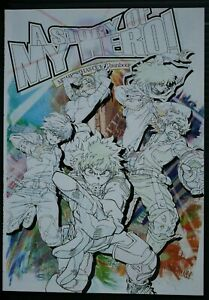 JAPAN My Hero Academia x Bunbougu Cafe 2020 Booklet