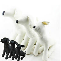 1PC PU Dog Mannequins Small Puppy Shop Display Mannequins Pet Dog Model NE- B0T1