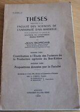 livre production agricole du bas rhone par ( jean bordas )