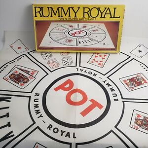 Vintage 1981 Rummy Royal Card Game by Whitman ~ Complete