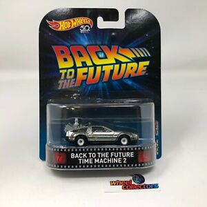Back to the Future Time Machine 2 * Hot Wheels Retro Series * WD12
