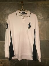 Polo Ralph Lauren Big Pony Deadstock NWT White Blue Size Large